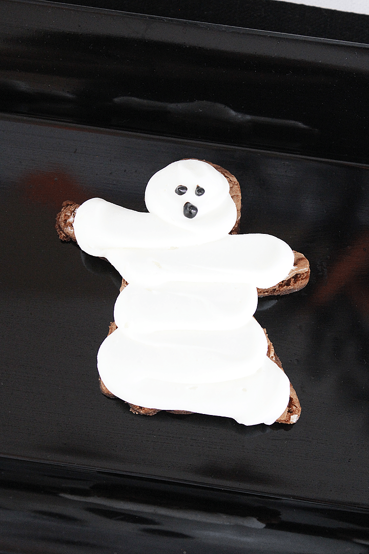 Boo Bash Halloween Party Ghost Brownies