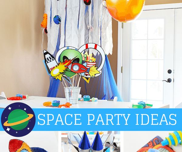 Outer Space Party and Play Date Ideas