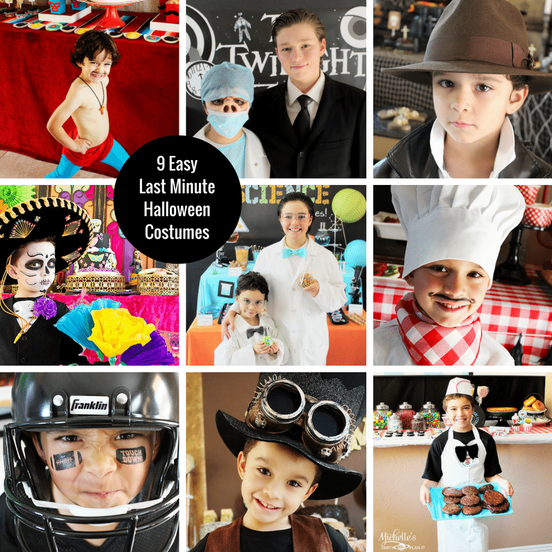 Easy Last Minute Halloween Costumes For Kids , Michelle\u0027s