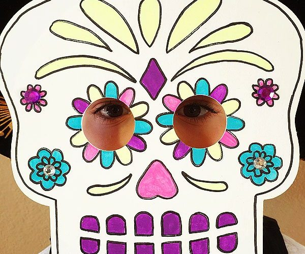 Day of the dead masks 1