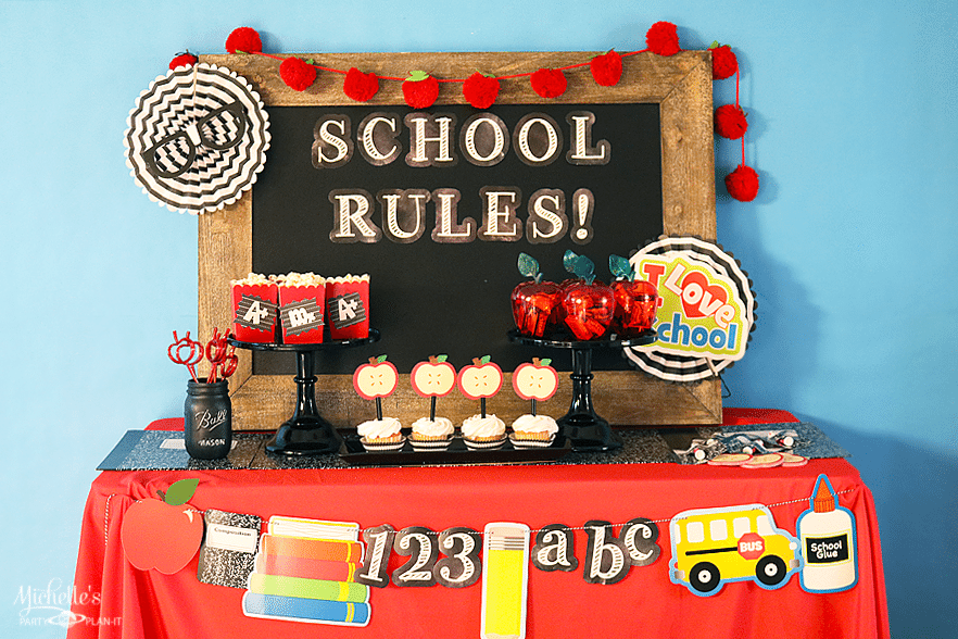 School Rules Party