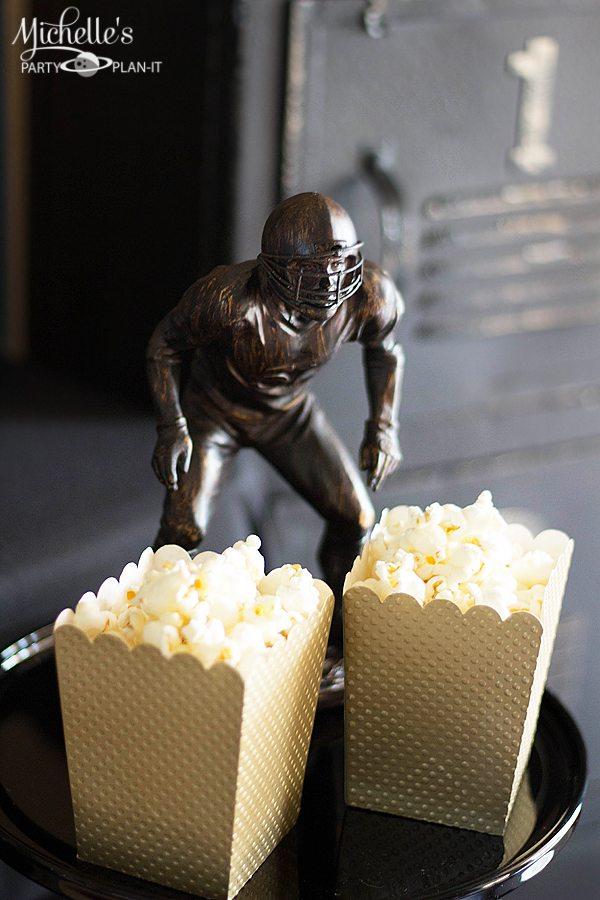 Vintage Football Popcorn