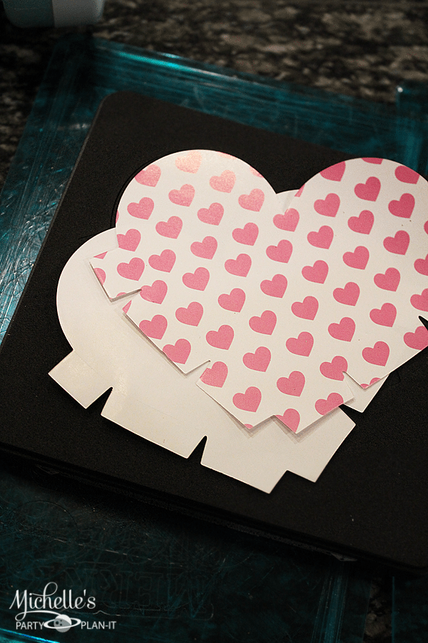 Valentine's Day Treat Holder Die Cuts