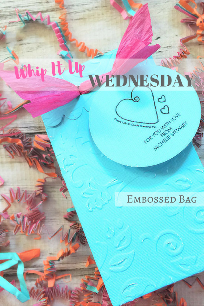 Embossed Party Favor Bags – Whip It Up Wednesday