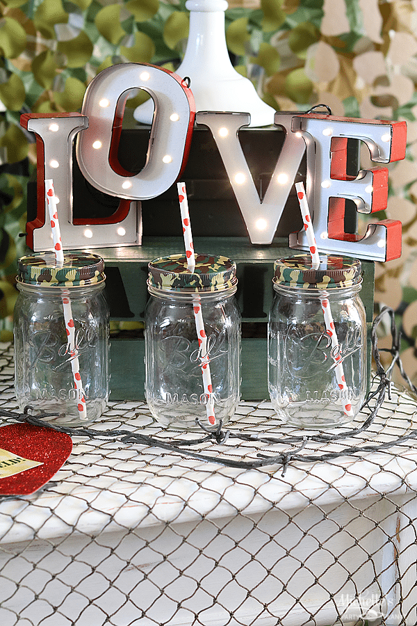 Love is a Battlefield Decorations