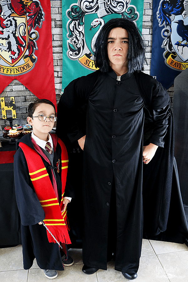Harry Potter and Professor Snape