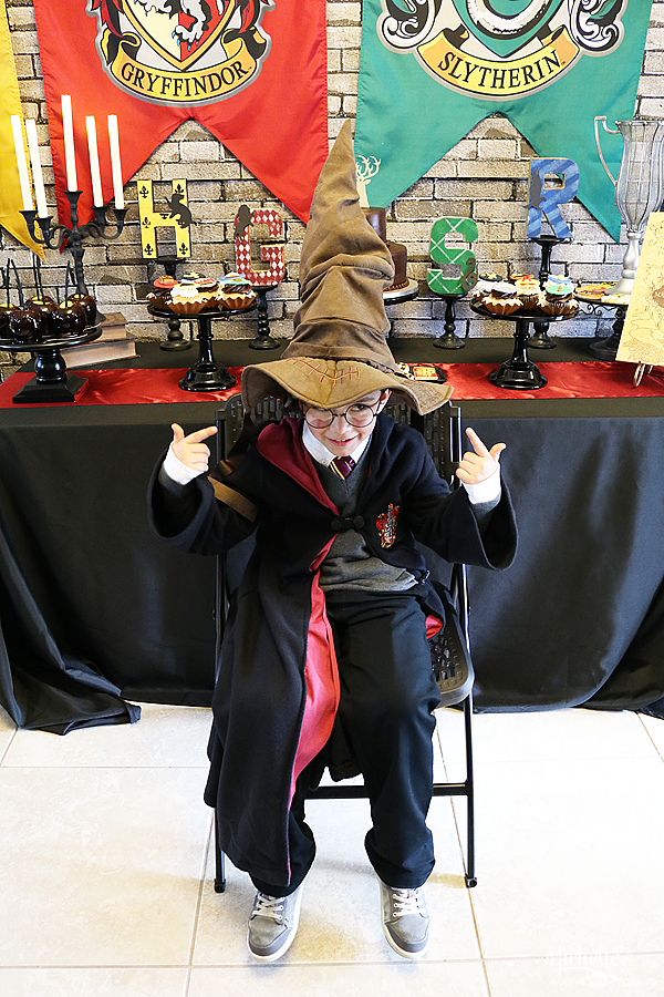 Harry Potter Party Activity Sorting Hat