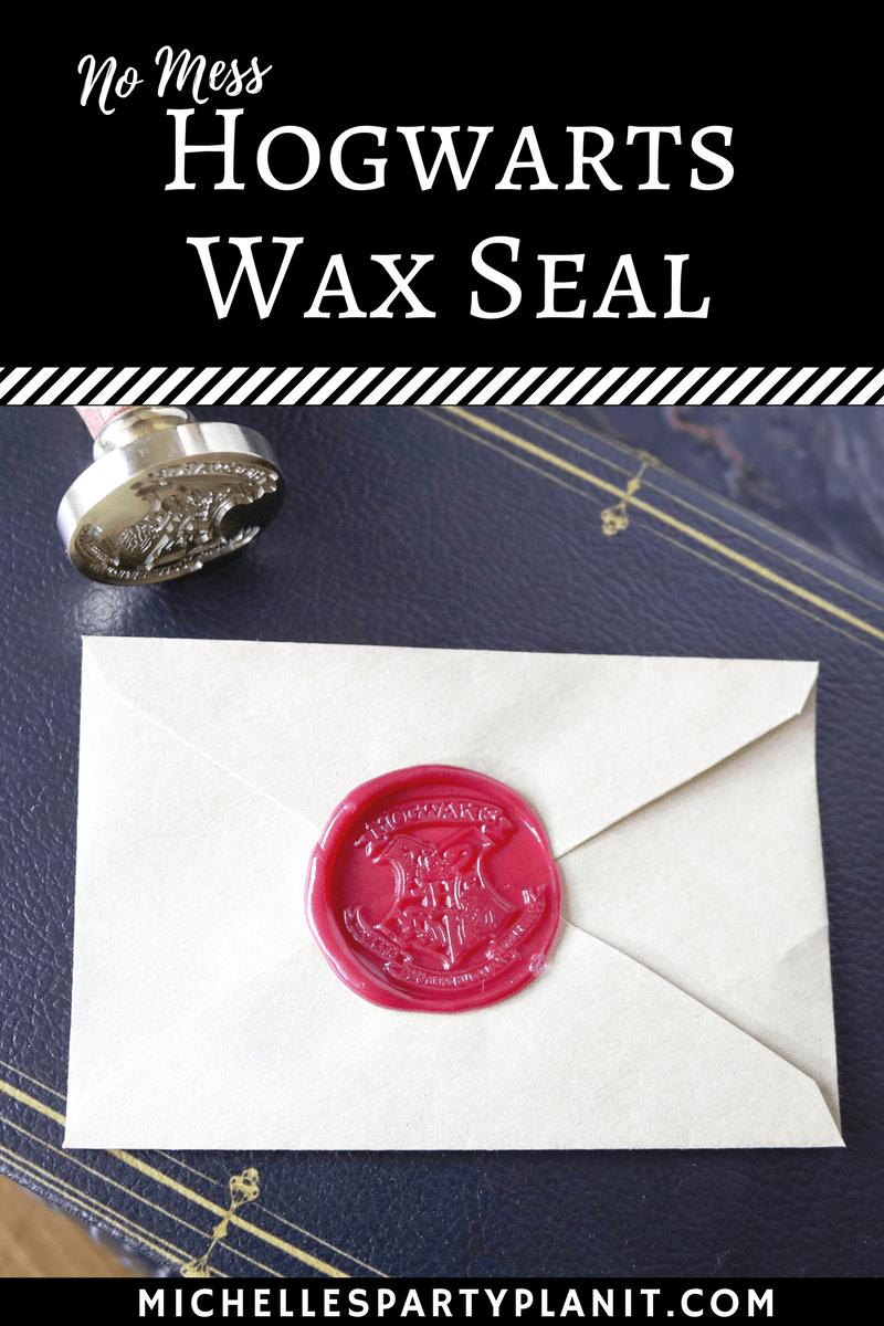 no mess hogwarts wax seal