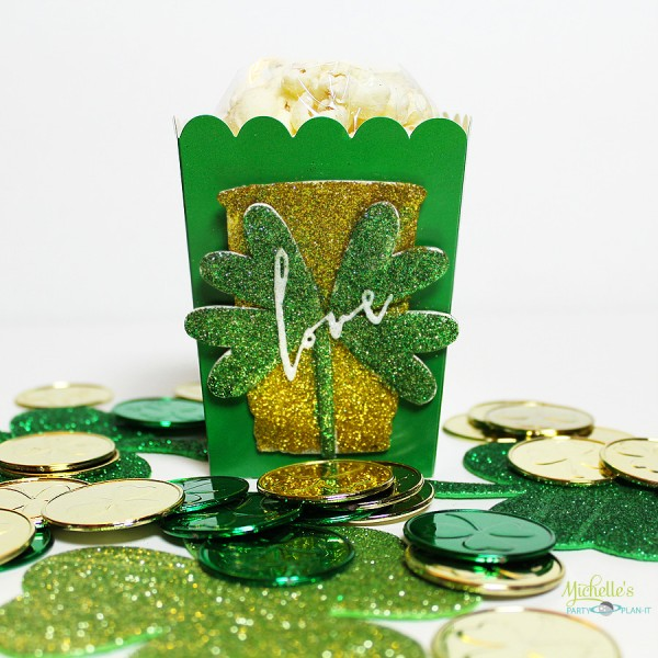 St. Patrick's Day Popcorn Boxes