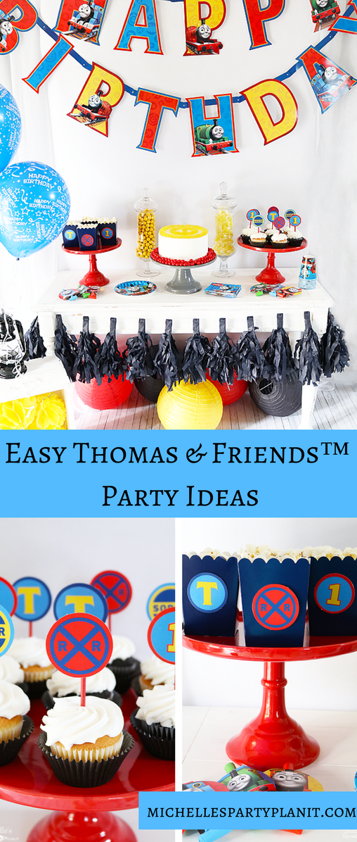 Easy Thomas & Friends™  Party Ideas