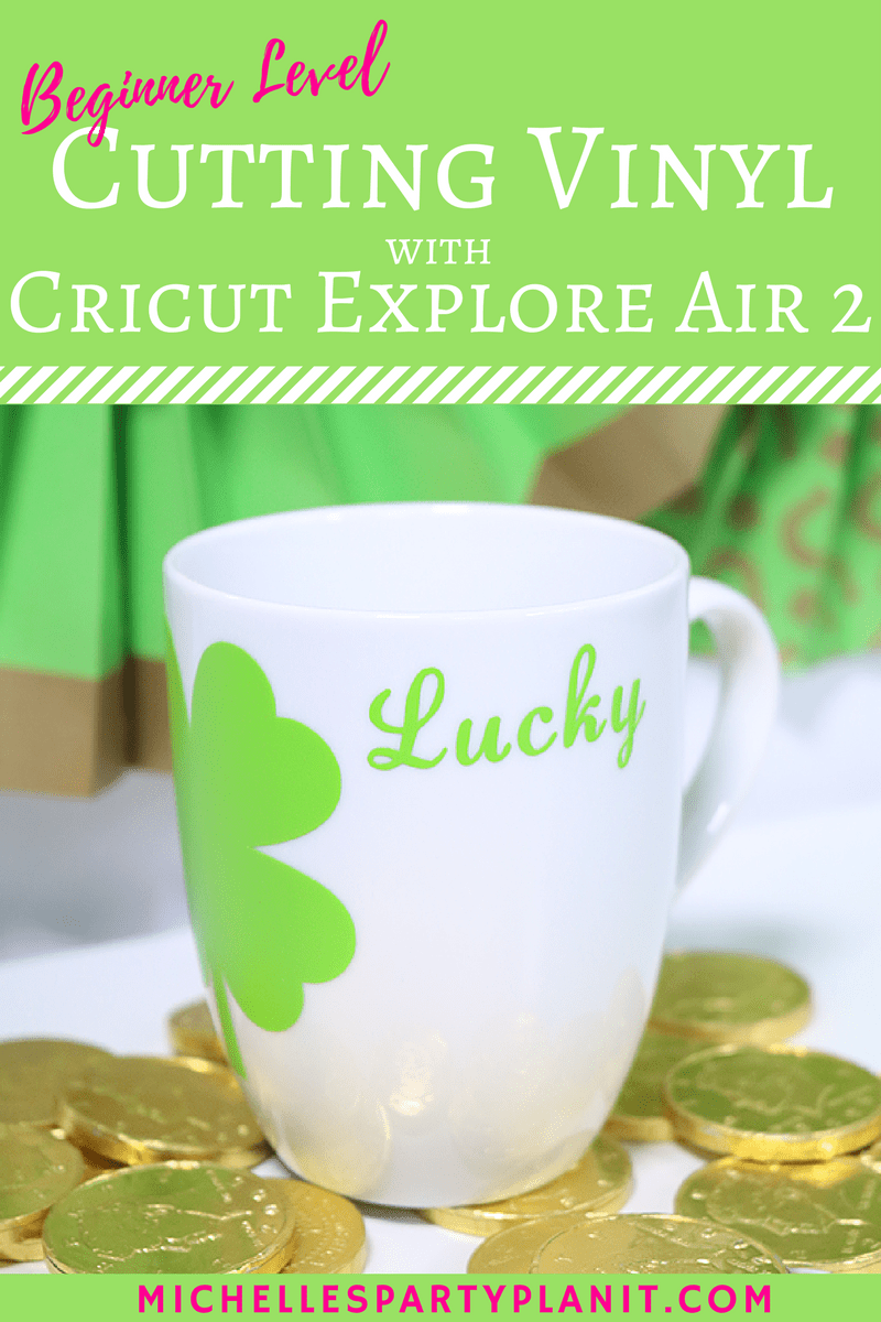 Cutting vinyl with Cricut Explore Air 2 Easy to follow tutorial
