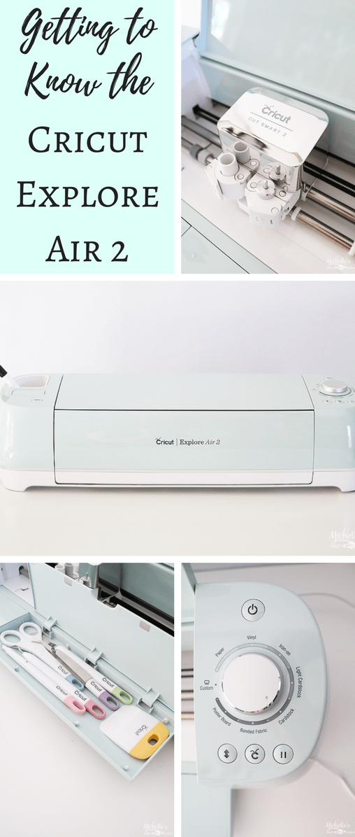 Getting to Know the Cricut Explore Air 2