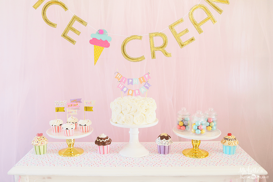 I Scream for Ice Cream Party