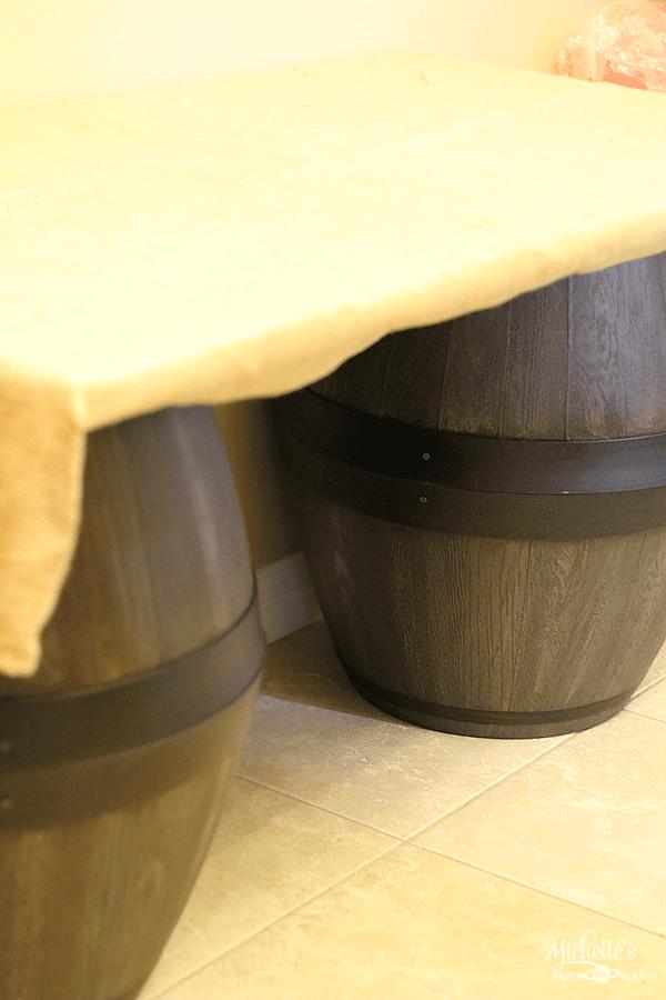 DIY Wine Barrels - Party Props