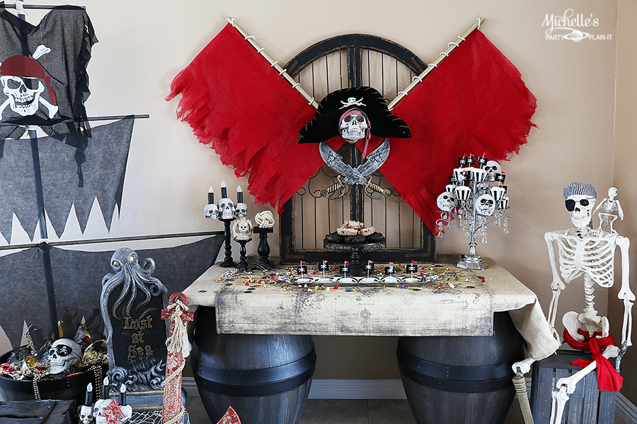 Dead Men Tell No Tales Inspired Pirate Party