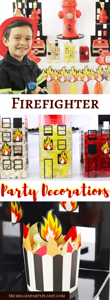 Easy Firefighter Party Decorations