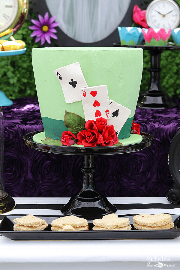 Mad Hatter Tea Party - Cake