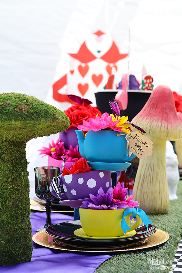 Mad Hatter Tea Party Table Decorations