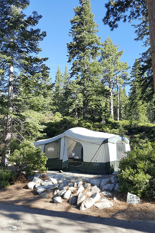 Camping Tips for not so roughing it