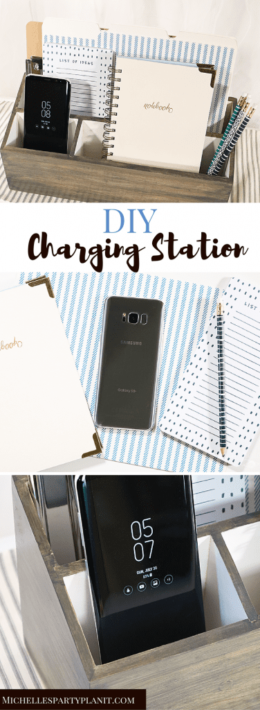 Get ORganized for Back To School with a Samsung GS8+ and a DIY Charging Station