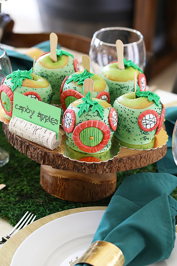 Lord of the Rings Caramel Apples