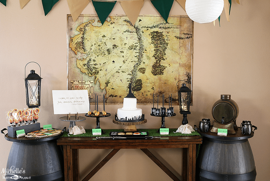 Lord of the Rings Party Table