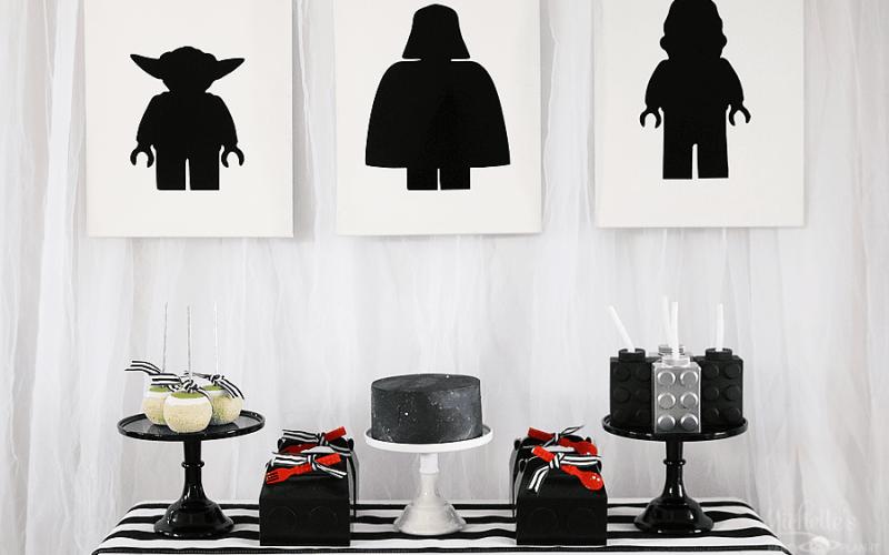 Star Wars Lego Party Ideas