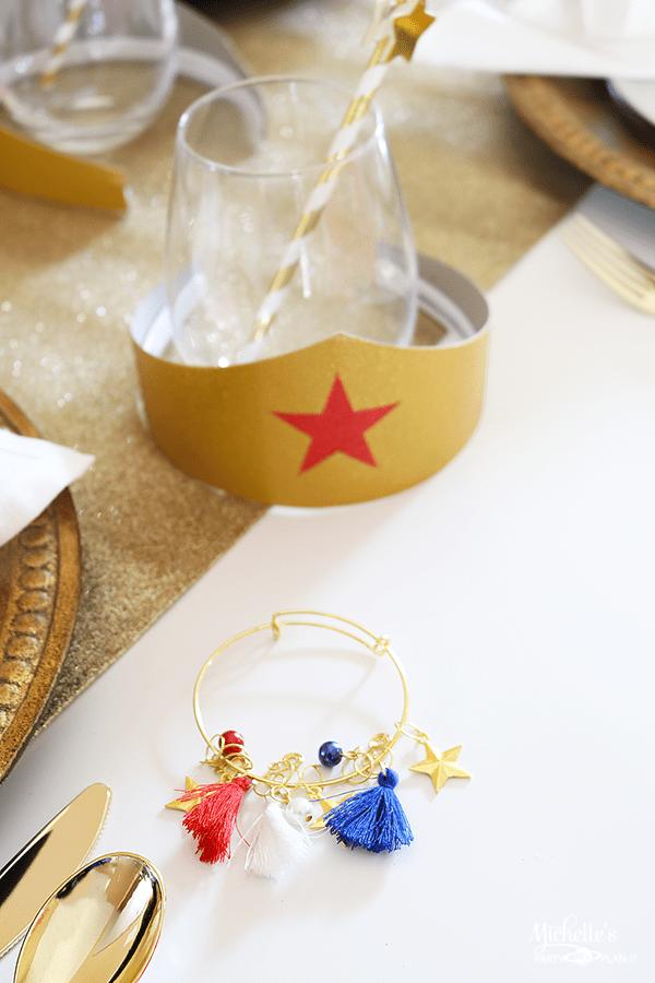 Wonder Woman Bridal Party Gifts