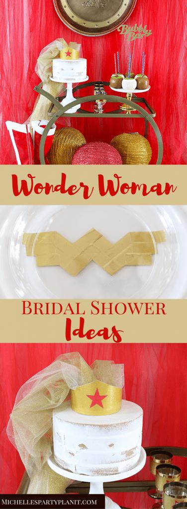 Wonder Woman Bridal Shower Ideas