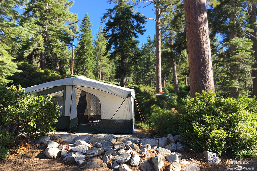Emerald Bay Campsite 52