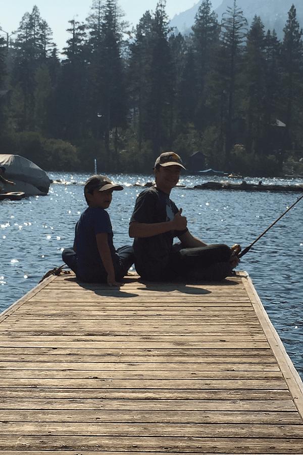 Fishing fun!
