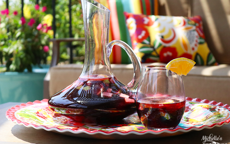 Mexican Sangria Recipe | Whip It Up Wednesday