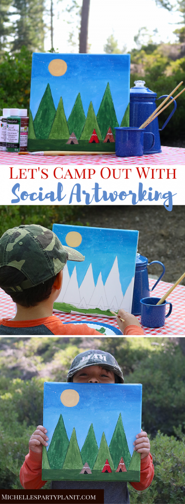 Let's Camp out with Social Artworking
