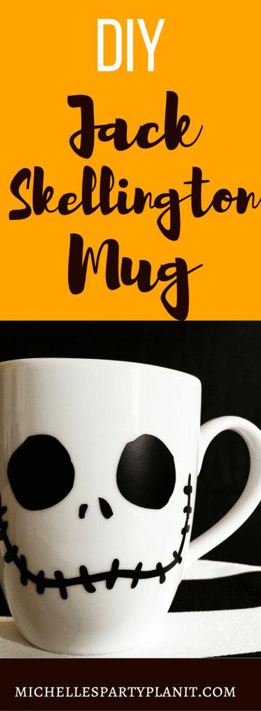 DIY Jack Skellington Mug