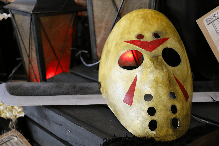 DIY Jason Hockey Mask by Michelle Stewart