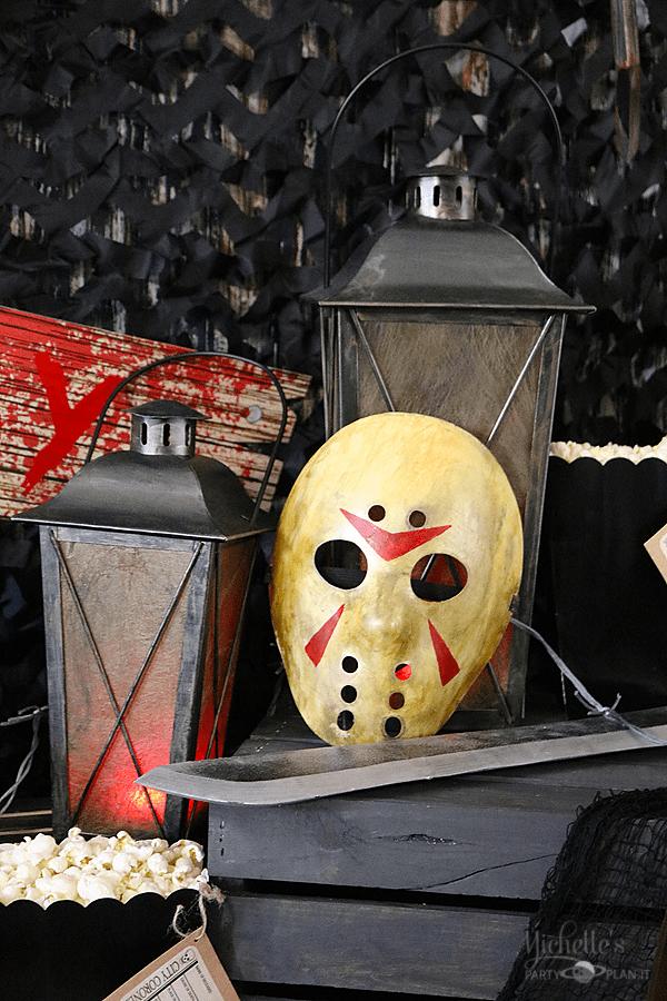 Jason mask prop