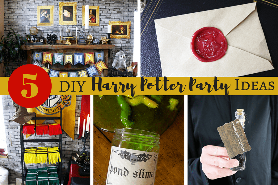 5 Doable DIY Harry Potter Party Ideas