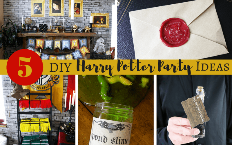 5 diy harry potter party ideas