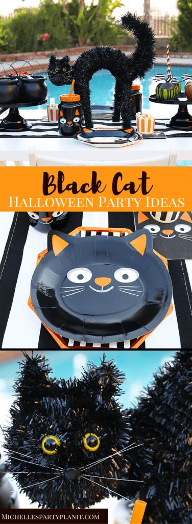 Black Cat Halloween Party Ideas