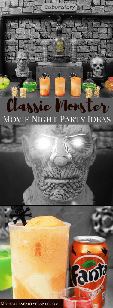 Classic Monster Movie Night Party Ideas