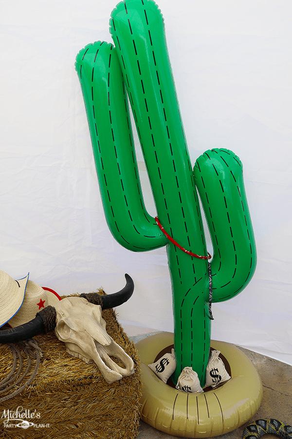 Cowboy Birthday Party Games Cactus Ring