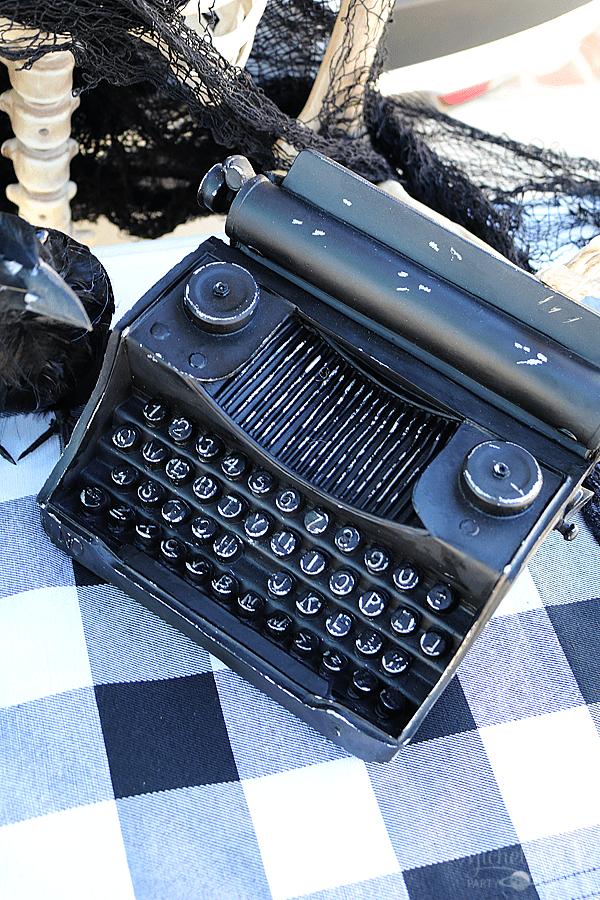 Halloween Typewriter