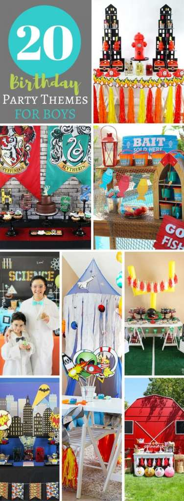 20 Birthday Party Themes for Boys