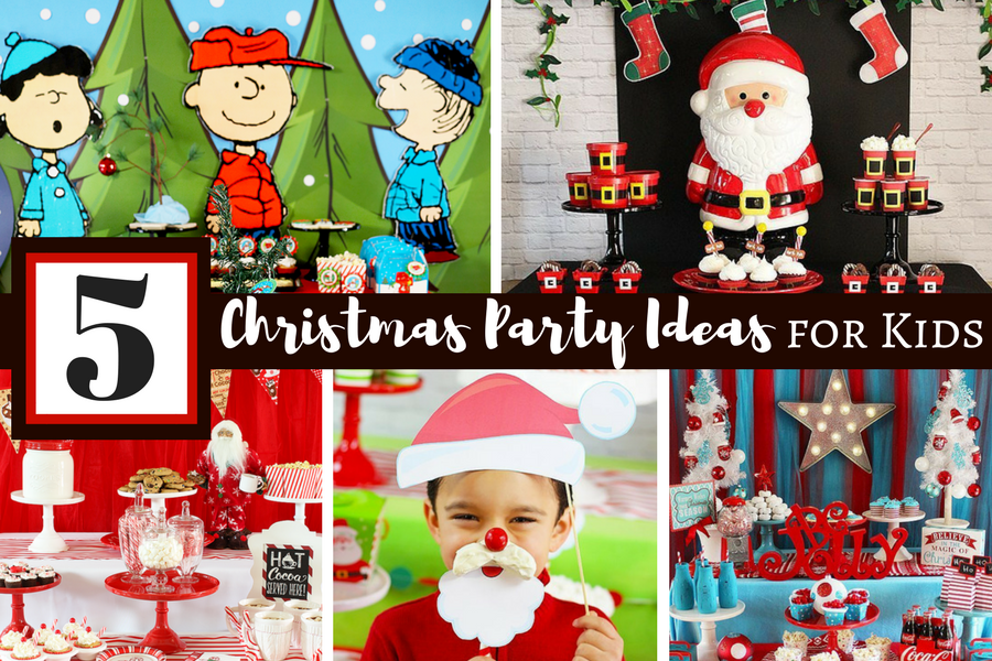 christmas party ideas for kids - Childrens Christmas Party Decoration Ideas