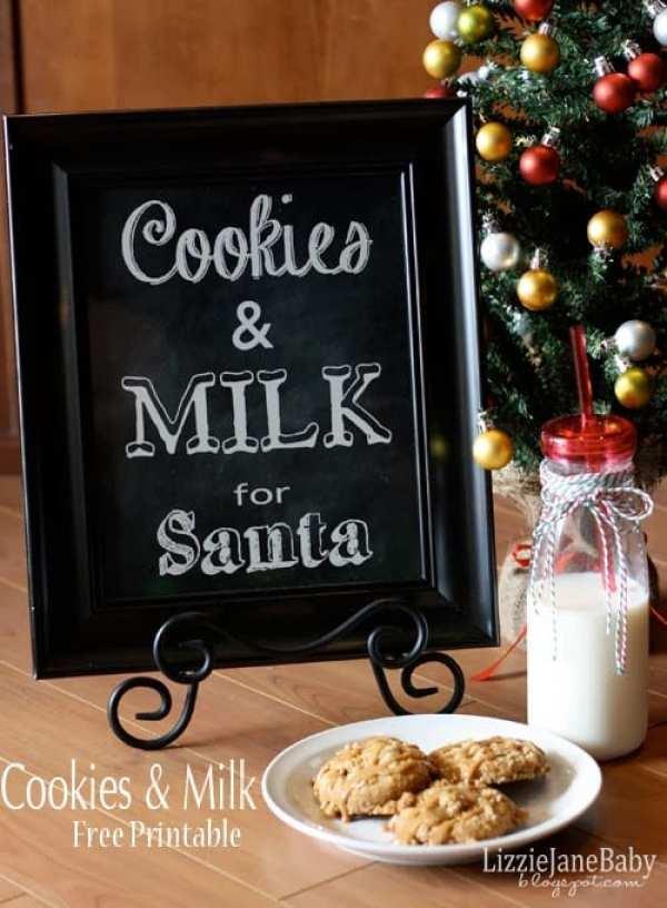 Cookies and Milk Print