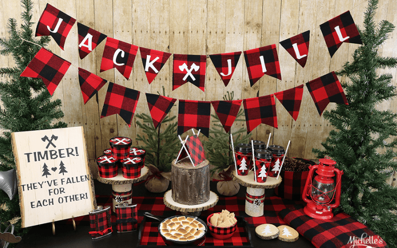 Lumberjack jill party ideas