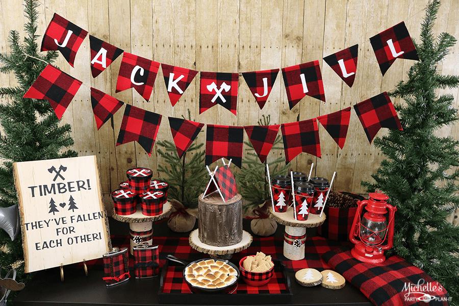 Lumberjack & Jill Party Ideas