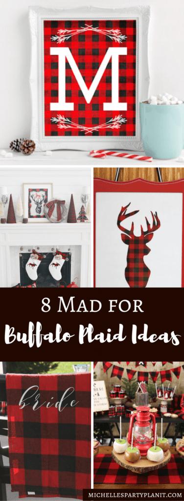 Mad for Buffalo Plaid Ideas