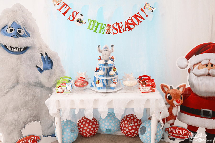 Rudolph the Red-Nosed Reindeer ® Party Table