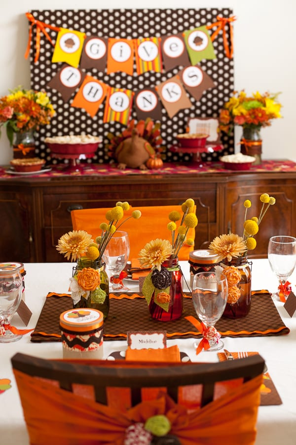 Thankful Thanksgiving Table